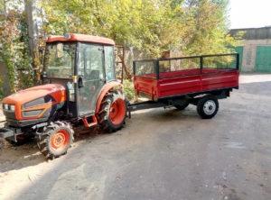 Прицеп тракторный ПТС-2.5У - 4