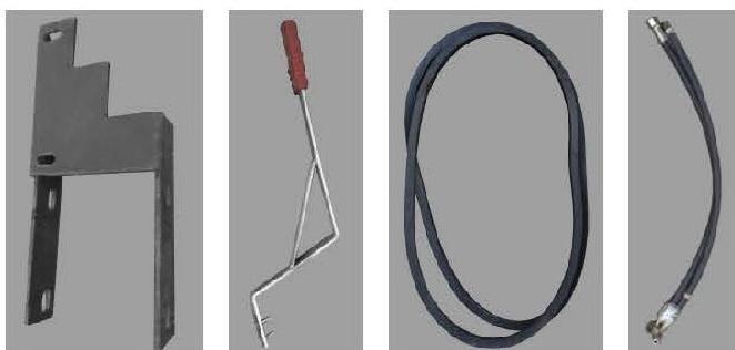 Комплект-1 гидравлического оборудования для навесной системы мототракторов - 4
