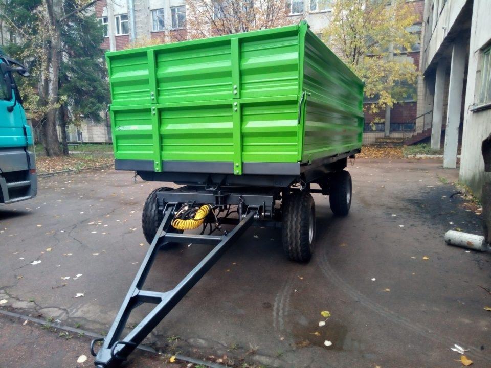 Прицеп тракторный самосвальный 2ПТС-6 - 4