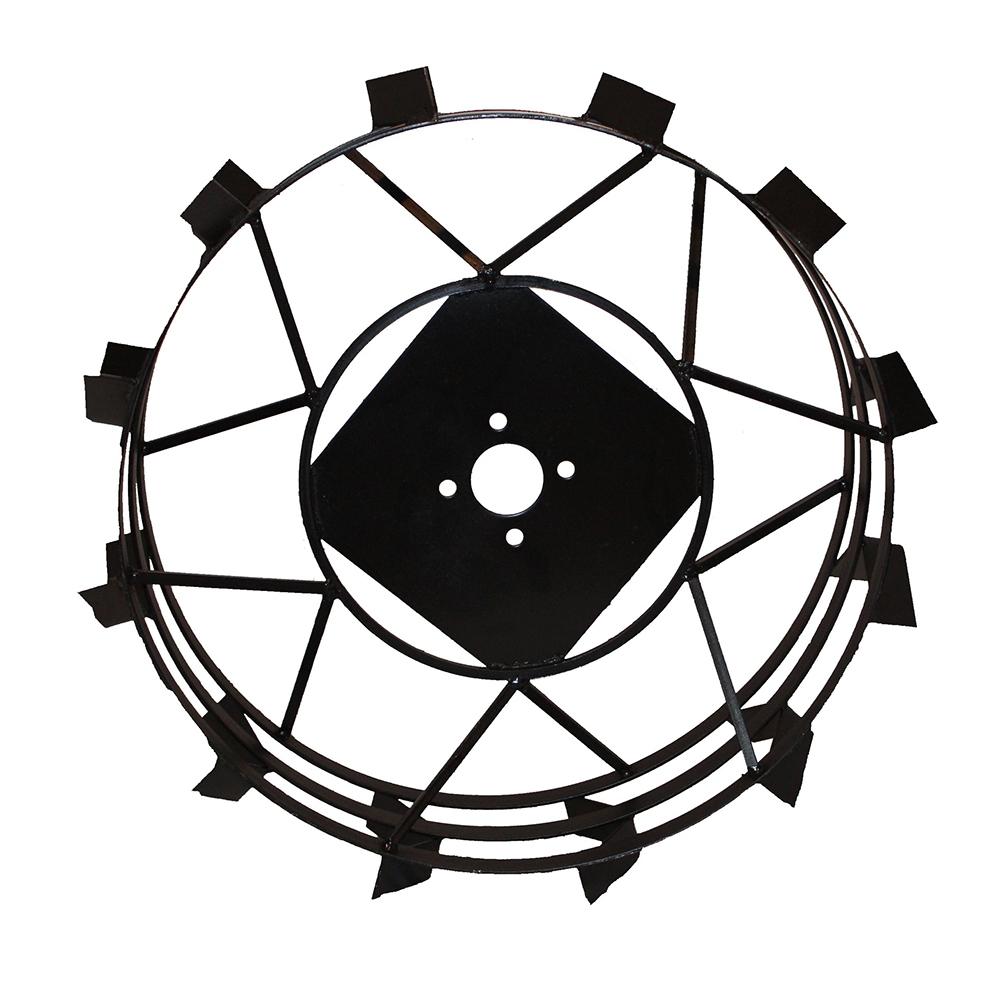 Колеса с грунтозацепами Ø600х180 (Зубр) (без втулки) - 1