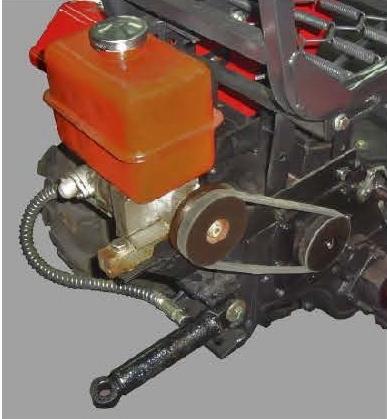 Комплект-1 гидравлического оборудования для навесной системы мототракторов - 1