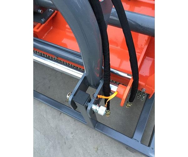 Косилка тракторная навесная-коса мульчера цепная (измельчитель скошенной травы) MENASOR 180H-T - 1