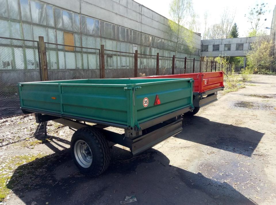 Прицеп тракторный ПТС-2.5У - 3