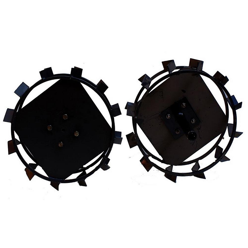 Колеса с грунтозацепами Ø450х150 (Zirka 105) (без втулки) - 3