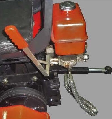 Комплект-1 гидравлического оборудования для навесной системы мототракторов - 2