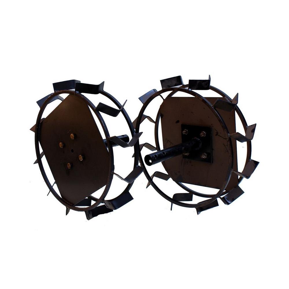 Колеса с грунтозацепами Ø450х150 (Zirka 105) (без втулки) - 2