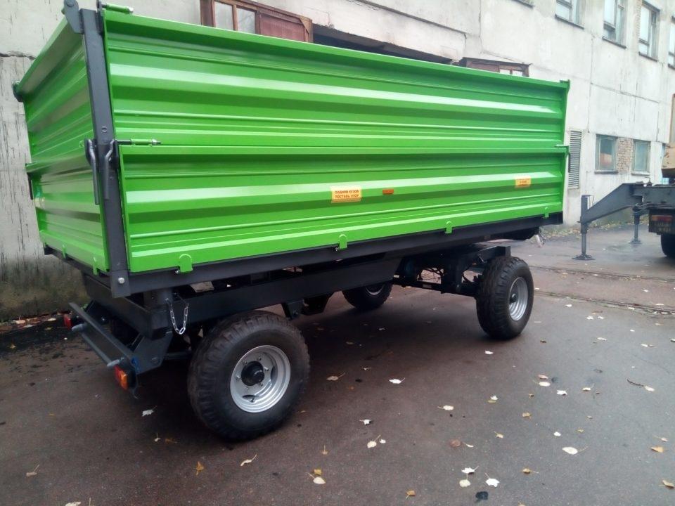 Прицеп тракторный самосвальный 2ПТС-6 - 3