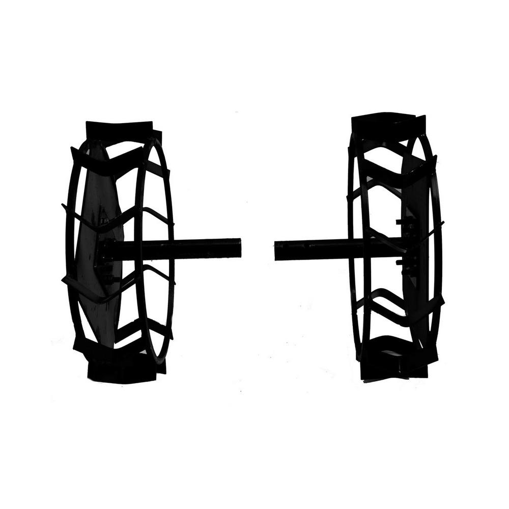 Колеса с грунтозацепами Ø450х150 (Zirka 105) (без втулки) - 1
